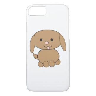 Perro de Brown Kawaii Funda iPhone 7