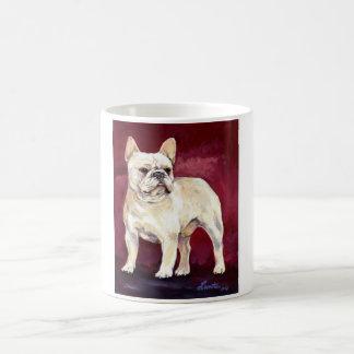 Perro de Bull del francés del moreno Taza De Café