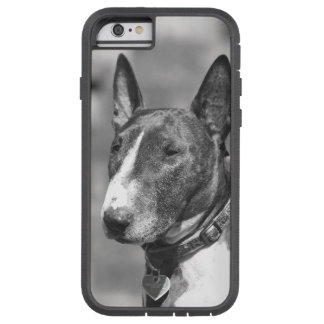 Perro de bull terrier funda de iPhone 6 tough xtreme