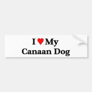 Perro de Canaan Pegatina Para Auto