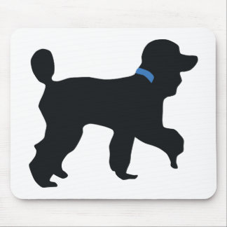 perro de caniche tapetes de ratones