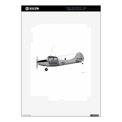 Perro de caza de Cessna L-19 Calcomanías Para iPad 2