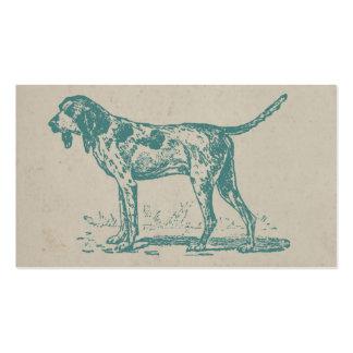 Perro de caza de Viantage Tarjetas De Visita