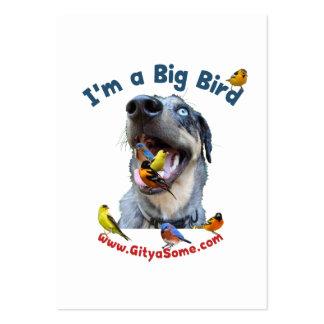 Perro de caza grande tarjetas de visita