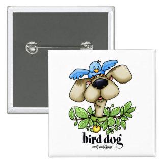 Perro de caza - sin bckgrnd pin cuadrado