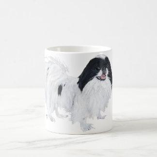 Perro de Chin del japonés Taza Clásica