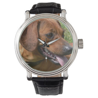 Perro de Daschund Relojes De Pulsera