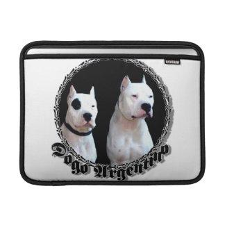 Perro de Dogo Argentino Funda MacBook