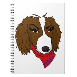 Perro de Donc Cuaderno