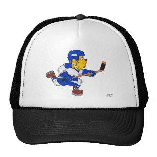 Perro de Donny--Hockey--T y materia Gorro De Camionero