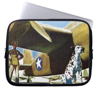 Perro de ejército manga portátil