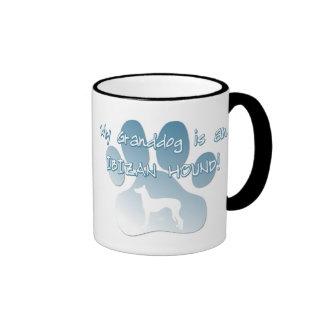 Perro de Ibizan Granddog Tazas De Café