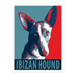 Perro de Ibizan por los perros de la esperanza Postales