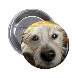 Perro de Jack Russell del bosque Pin Redondo De 2 Pulgadas