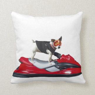 Perro de Jack Russell Terrier Cojín Decorativo