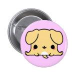 Perro de Kawaii (usted cambia el fondo!) Pin