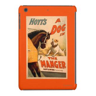 Perro de la A de Hoyt en el poster del teatro del Fundas De iPad Mini Retina