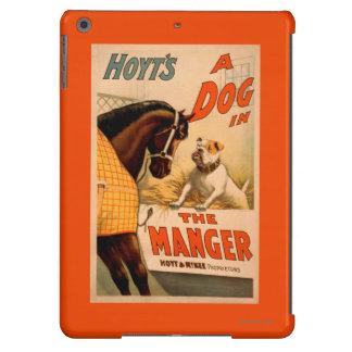 Perro de la A de Hoyt en el poster del teatro del