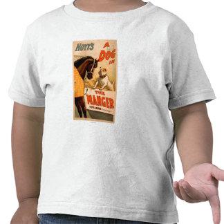Perro de la A de Hoyt en el poster del teatro del Camiseta