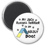 Perro de la agilidad de Jack Russell Terrier Imán