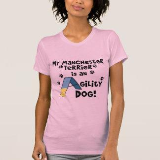 Perro de la agilidad de Manchester Terrier Remeras
