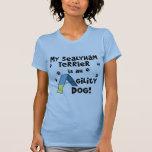 Perro de la agilidad de Sealyham Terrier Camisetas
