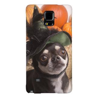 Perro de la bruja de Halloween Funda Galaxy Note 4