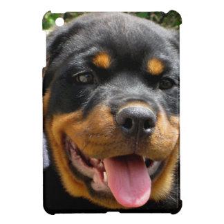 Perro de la cara del perrito de Rottweiler lindo