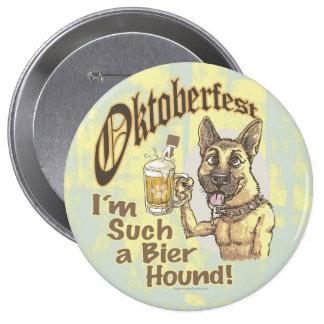 Perro de la cerveza de Oktoberfest Pins