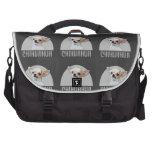 Perro de la chihuahua bolsas para portatil