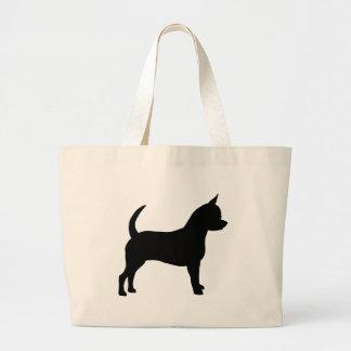Perro de la chihuahua bolsas de mano