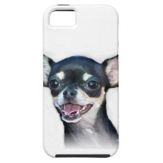 Perro de la chihuahua iPhone 5 Case-Mate cobertura