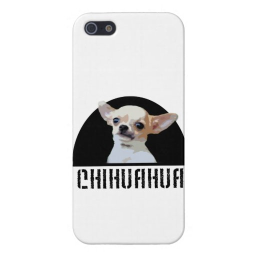 Perro de la chihuahua iPhone 5 fundas