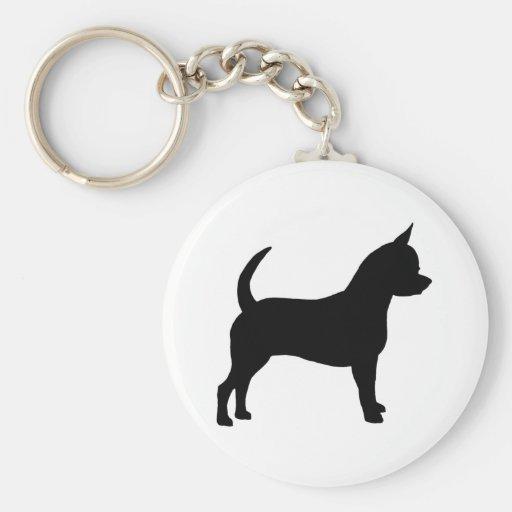 Perro de la chihuahua llaveros personalizados