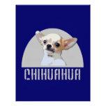 Perro de la chihuahua membrete a diseño