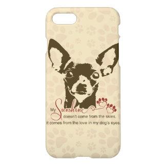 Perro de la chihuahua mi sol funda para iPhone 7