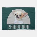 Perro de la chihuahua toallas de cocina