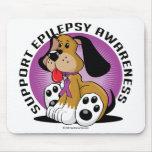 Perro de la epilepsia alfombrilla de ratones
