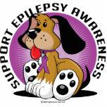 Perro de la epilepsia esculturas fotográficas