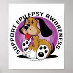 Perro de la epilepsia posters