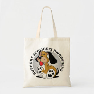 Perro de la escoliosis bolsa tela barata