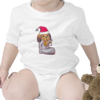 Perro de la Feliz Año Nuevo Camiseta