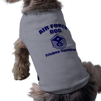 Perro de la fuerza aérea playera sin mangas para perro
