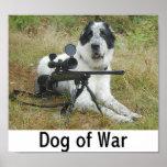 Perro de la guerra 2 posters