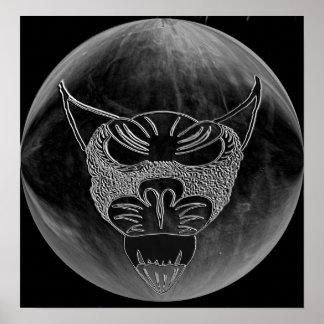 Perro de la luna póster
