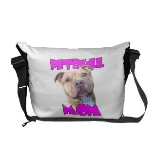 Perro de la mamá de Pitbull Bolsas De Mensajería