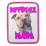 Perro de la mamá de Pitbull Mangas De iPad
