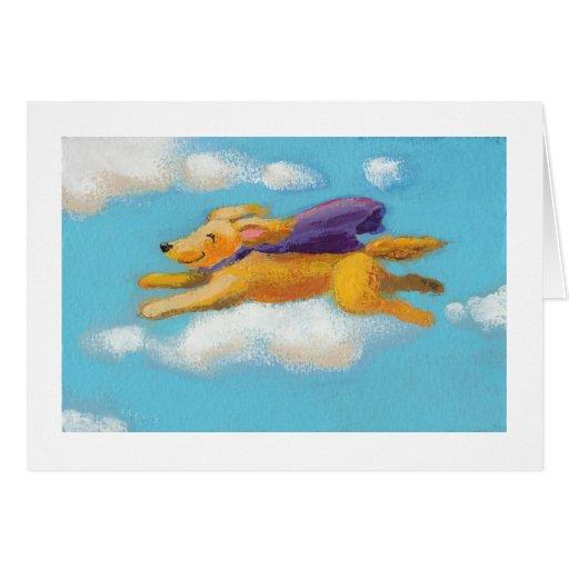 Perro de la maravilla - perro perdiguero del perro tarjeta de felicitación