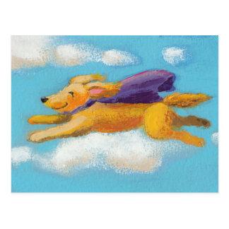 Perro de la maravilla - perro perdiguero del perro tarjeta postal
