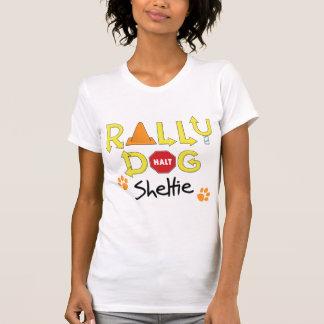 Perro de la reunión de Sheltie Camisetas